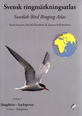 Swedish Bird Ringing Atlas / Svensk Ringmärkningsatlas, Volume 2