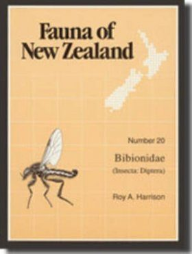 Fauna of New Zealand, No 20: Bibionidae (Insecta: Diptera)