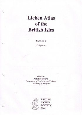 Lichen Atlas of the British Isles: Fascicle 6: Caloplaca