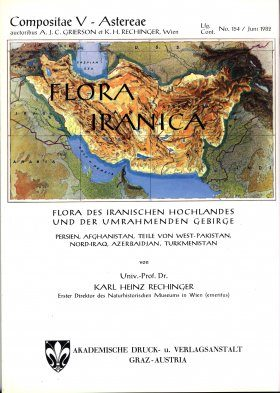 Flora Iranica, Volume 154: Compositae V - Asterae [German / Latin]
