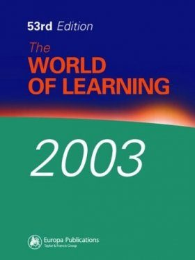 The World of Learning 2003