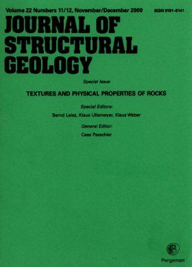 Special Issue of the Journal of Structural Geology, Vol. 22, No's. 11/12 November/December 2000: Textures and Physical Properties of Rocks