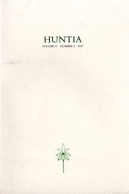 Huntia: Volume 11, No. 2 - 2002