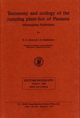 Taxonomy and Ecology of the Jumping Plant-Lice of Panama