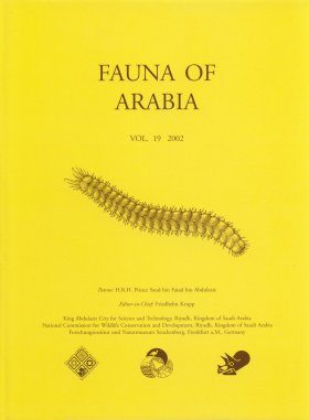 Fauna of Arabia, Volume 19