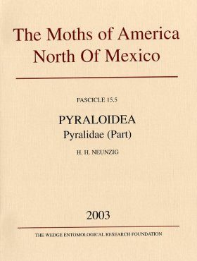 The Moths of America North of Mexico, Fascicle 15.5: Pyraloidea, Pyralidae, (Part) Phycitinae (Part)