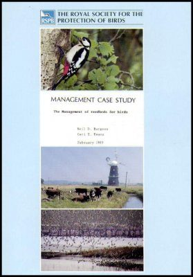 The Management of Reedbeds for Birds