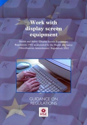 Display Screen Equipment Work: Health and Safety (Display Screen Equipme