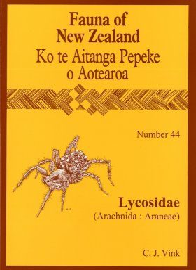 Fauna of New Zealand, No 44: Lycosidae (Arachnida: Araneae)