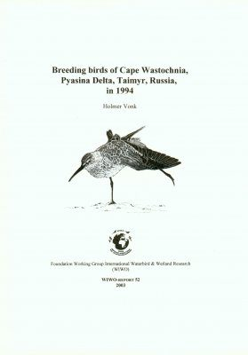 Breeding Birds of Cape Wastochnia, Pyasina Delta, Taimyr, Russia in 1994