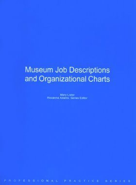 Museum Job Descriptions and Organizational Charts - Resource Report