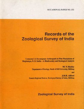 Consumer and Decomposer in Arthropods in Pine Plantation of Meghalaya NE India