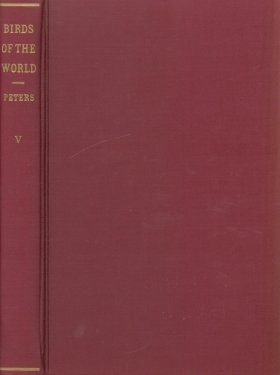 Check-List of Birds of the World, Volume V