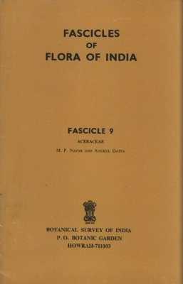 Fascicles of Flora of India, Fascicle 9