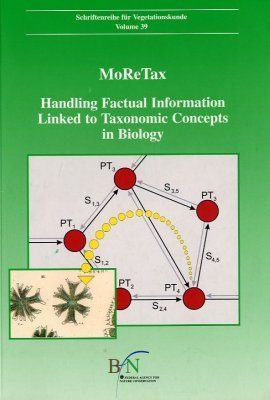 MoRe Tax. Handling Factual Information Linked to Taxonomic Concepts in Biology