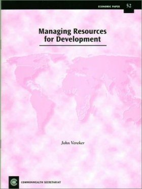 Managing Resources for Development