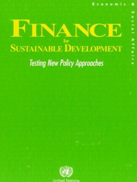 Finance for Sustainable Development