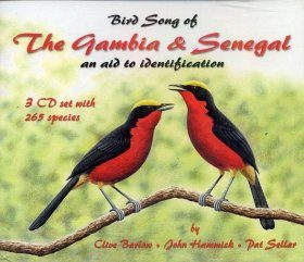 Bird Song of the Gambia & Senegal (3CD)