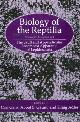 Biology of the Reptilia, Volume 21, Morphology I