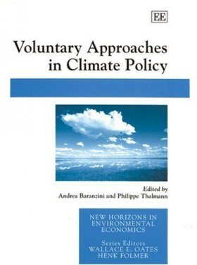 Voluntary Approaches in Climate Policy