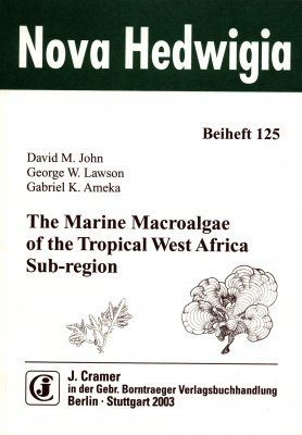 The Marine Macroalgae of the Tropical West African Sub-region