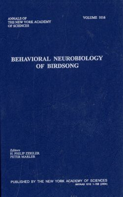 Behavioural Neurobiology of Birdsong