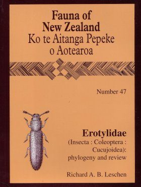 Fauna of New Zealand, No 47: Erotylidae (Insecta: Coleoptera: Cucujoidea)
