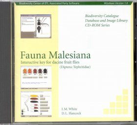 Fauna Malesiana - Interactive Key for Dacine Fruit Flies (Diptera: Tephritidae) (CD-ROM)