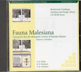 Fauna Malesiana - Interactive Key for Mosquito Vectors of Human Disease Diptera: Culicidae (CD-ROM)