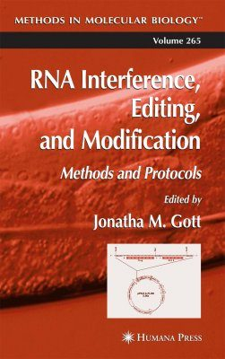 RNA Interference, Editing and Modification