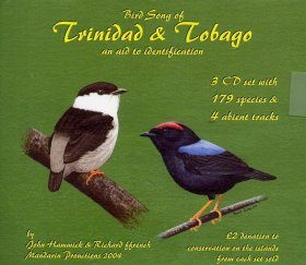 Bird Song of Trinidad & Tobago: An Aid to Identification (3CD)