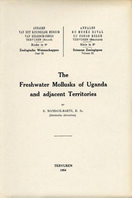 The Freshwater Mollusks of Uganda and Adjacent Territories