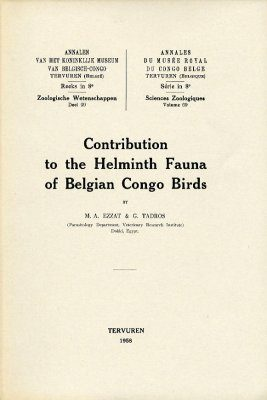 Contribution to the Helminth Fauna of Belgian Congo Birds