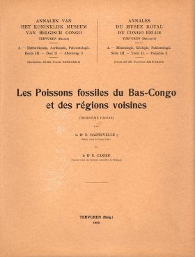 Les Poissons Fossiles du Bas-Congo et des Régions Voisines, Troisième Partie [The Fossil Fishes of Bas-Congo and the Neighboring Regions, Third Part]