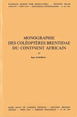 Monographie des Coléoptères Brentidae du Continent Africain
