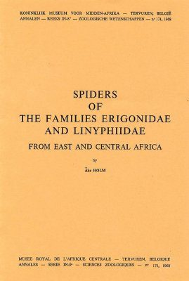 Spiders of the Families Erigonidae and Linyphiidae from East and Central Africa