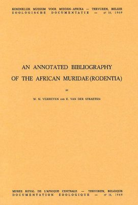 An Annotated Bibliography of the African Muridae (Rodentia)