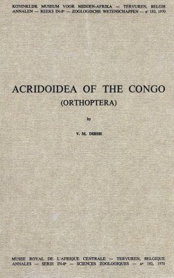 Acridoidea of the Congo (Orthoptera)