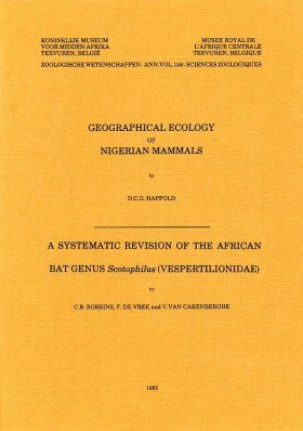 Geographical Ecology of Nigerian Mammals (II)/A Systematic