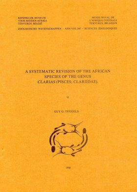 A Systematic Revision of the African Species of the Genus Clarias (Pisces: Clariidae)