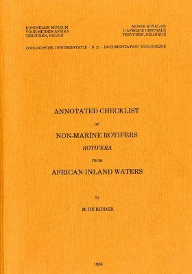 Annotated Checklist of Non-Marine Rotifers (Rotifera) From African Inland Waters