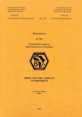 Proceedings of the Eighth Pan-African Ornithological Congress