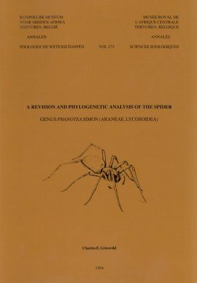 A Revision and Phylogenetic Analysis of the Spider Genus Phanotea Simon (Araneae, Lycosoidea)