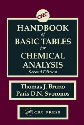 Handbook of Basic Tables for Chemical Analysis