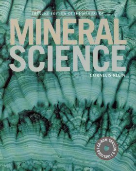 Manual of Mineralogy, with Mineralogy Tutorials on CD-ROM