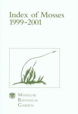 Index of Mosses, 1999-2001