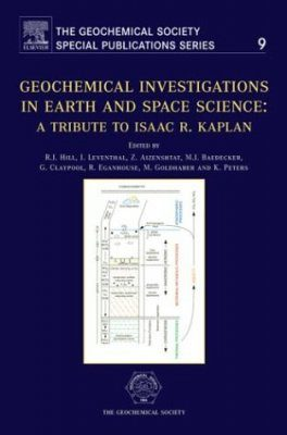 Geochemical Investigations in Earth and Space Science