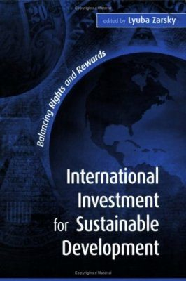 International Investment for Sustainable Development