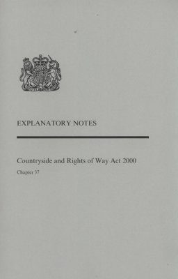 Countryside and Rights of Way Act 2000