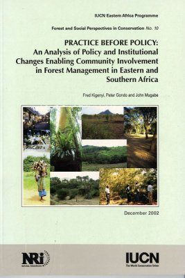 Practice Before Policy: An Analysis of Policy and Institutional Changes Enabling Community Involvement in Forest Management in Eastern and